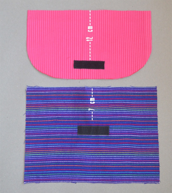 paso 3 coser velcro
